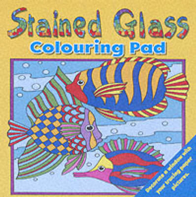 Stained Glass Colouring Pad 1 (Paperback)