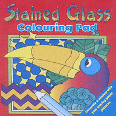 Stained Glass Colouring Pad 2 (Paperback)