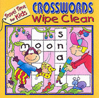Travel Time Wipe Clean Crosswords (Paperback)