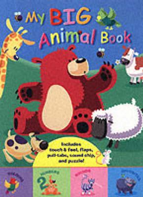 My Big Animal Book - My Big... (Hardback)