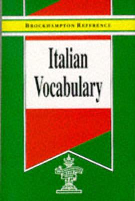 Italian Vocabulary - Brockhampton Reference Series (Bilingual) (Hardback)