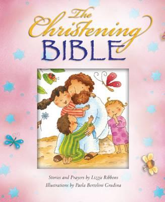 The Christening Bible (Pink) (Hardback)