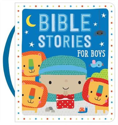 Bible Stories for Boys (Blue) (Board book)