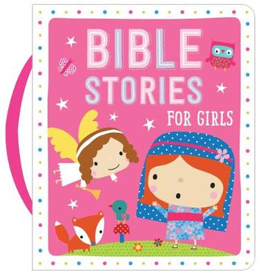 Bible Stories for Girls (Pink) (Board book)