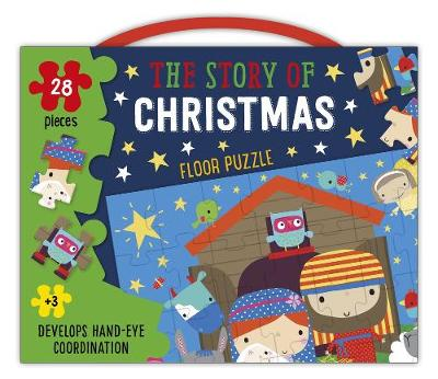Christmas Floor Puzzle: The Story of Christmas (28 Pieces) (Book)