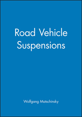 Road Vehicle Suspensions (Hardback)