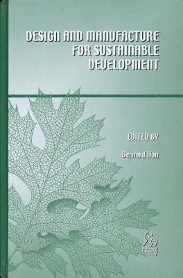 Design for Manufacture and Sustainable Development (Hardback)