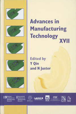 Advances in Manufacturing Technology XVII 2003 (Hardback)