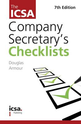 The ICSA's Company Secretary Checklists (Paperback)
