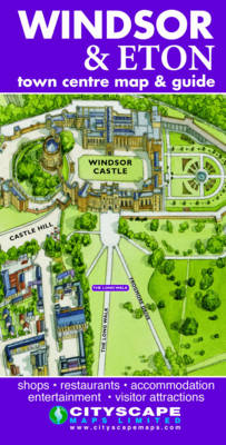 Windsor and Eton Town Map and Guide Waterstones