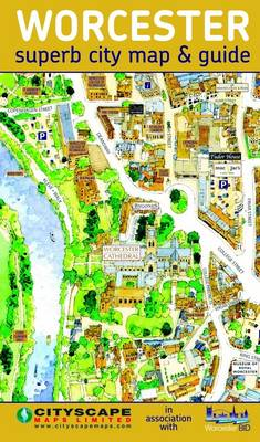 Worcester City Centre Map and Guide Waterstones