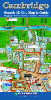 Cambridge Superb 3D City Map and Guide (Sheet map, folded)