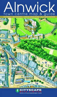 Alnwick Town Centre Map and Guide (Sheet map, folded)
