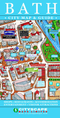 Bath City Map and Guide (Sheet map, folded)