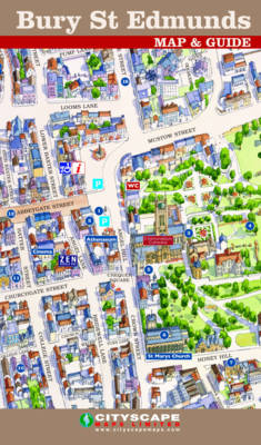 Bury St Edmunds Town Centre Map and Guide Waterstones