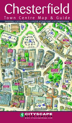 Chesterfield Town Centre Map and Guide   Waterstones on