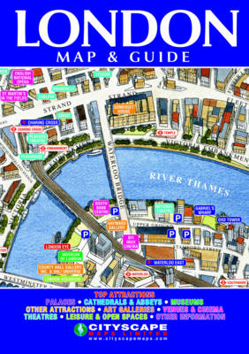 London Superb 3D-illustrated Map and Guide (Sheet map, folded)