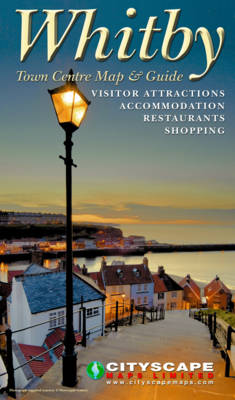 Whitby Town Centre Map and Guide (Sheet map, folded)