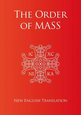 Order of Mass in English (Paperback)