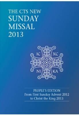 CTS New Sunday Missal 2013 (Paperback)