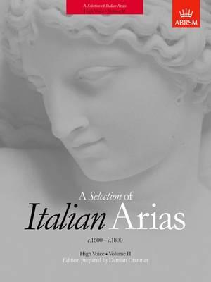 A Selection of Italian Arias 1600-1800, Volume II (High Voice) (Sheet music)