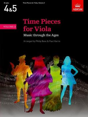 Time Pieces for Viola, Volume 2: Music through the Ages in Two Volumes - Time Pieces (ABRSM) (Sheet music)