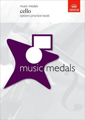 Music Medals Cello Options Practice Book - ABRSM Music Medals (Sheet music)