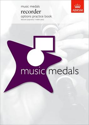 Music Medals Recorder Options Practice Book - ABRSM Music Medals (Sheet music)