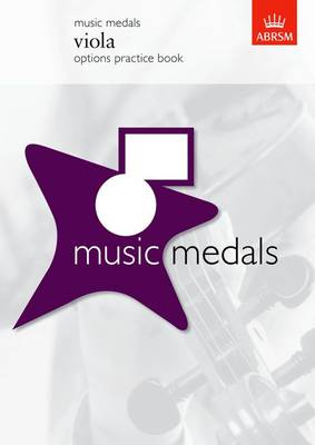 Music Medals Viola Options Practice Book - ABRSM Music Medals (Sheet music)