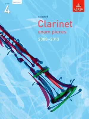 Selected Clarinet Exam Pieces 2008-2013, Grade 4 Part (Sheet music)