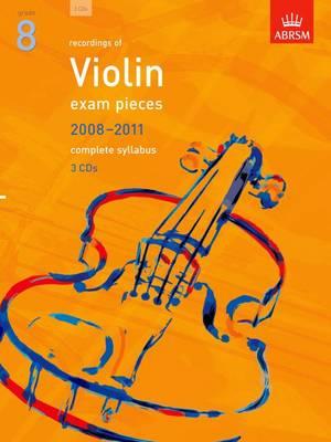 Violin Exam Recordings, 2008-2011, Grade 8 - Abrsm Exam Pieces (CD-Audio)