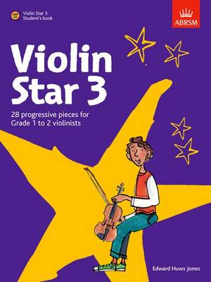 Violin Star 3, Student's book, with CD - Violin Star (ABRSM) (Sheet music)