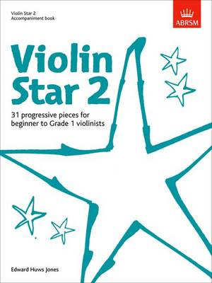 Violin Star 2, Accompaniment book - Violin Star (ABRSM) (Sheet music)