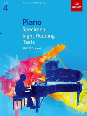 Piano Specimen Sight-Reading Tests, Grade 4 - ABRSM Sight-reading (Sheet music)