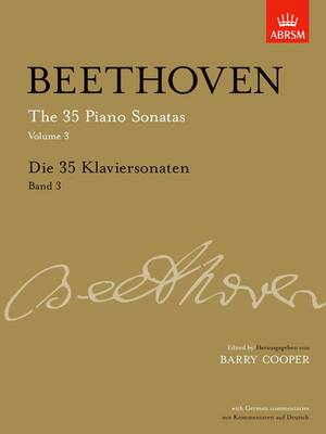 Die 35 Klaviersonaten, Band 3 - Signature Series (ABRSM) (Sheet music)