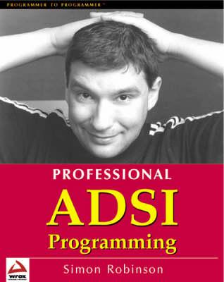 Professional ADSI Programming