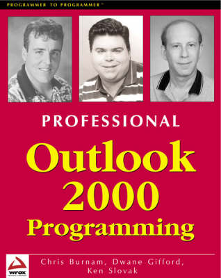 Professional Outlook 2000 Programming: With VBA, Office and CDO (Paperback)