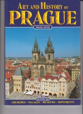 Art and History of Prague (Paperback)