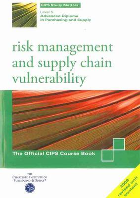 Risk Management and Supply Chain Vulnerability (Paperback)