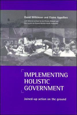 Implementing holistic government: Joined-up action on the ground (Paperback)