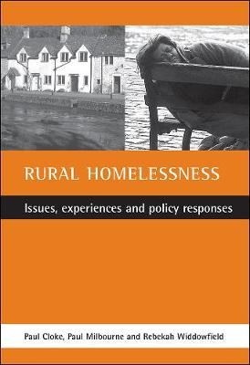 Rural homelessness: Issues, experiences and policy responses (Paperback)