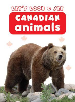Let's Look & See: Canadian Animals (Board book)