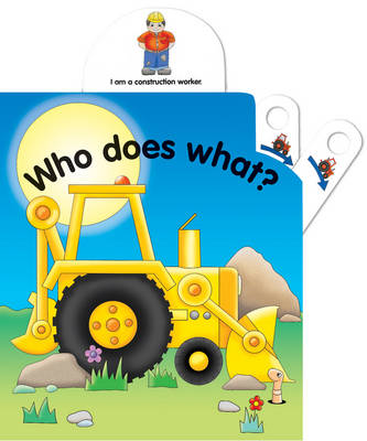 Pull the lever: Who does what? (Board book)