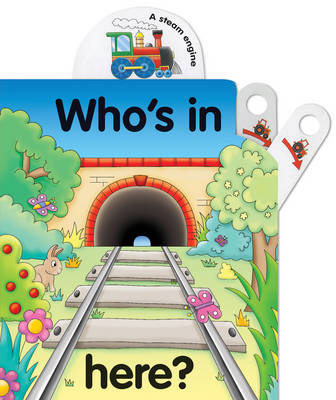 Pull the lever: Who's in here? (Board book)