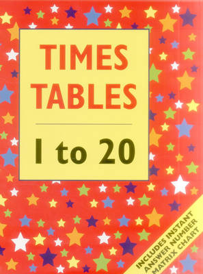 Times Tables - 1 to 20 (Giant Size) (Paperback)