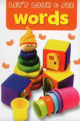 Sticker Fun - Words (Board book)