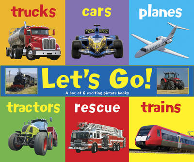 Let's Go!: A Box of 6 Exciting Picture Books (Hardback)
