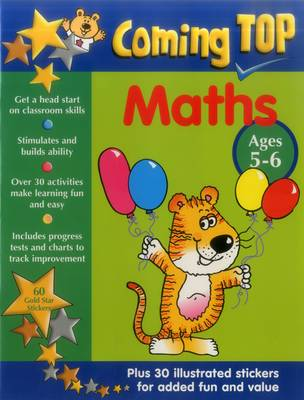 Coming Top: Maths - Ages 5-6 (Paperback)