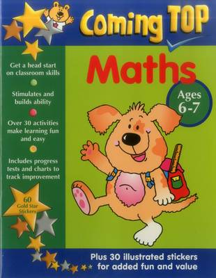 Coming Top: Maths - Ages 6-7 (Paperback)