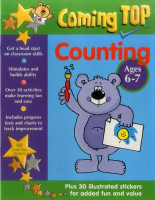 Coming Top: Counting - Ages 6-7 (Paperback)